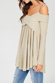 Wishlist Off Shoulder Thermal - Front full body