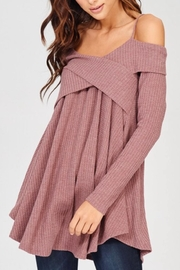 Wishlist Off-The-Shoulder Thermal - Front cropped