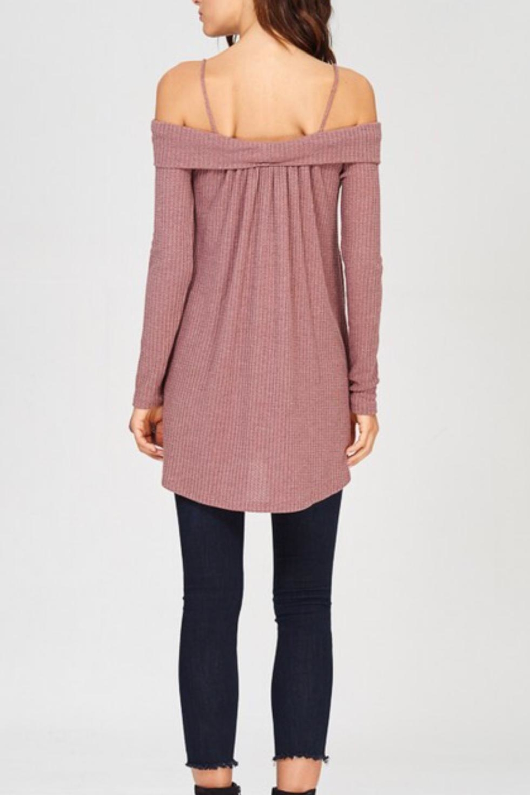 Wishlist Off-The-Shoulder Thermal - Front Full Image