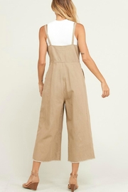 Wishlist Overall Button-Down Jumper - Front full body