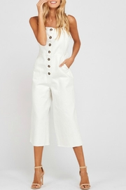 Wishlist Overall Button-Down Jumper - Front cropped