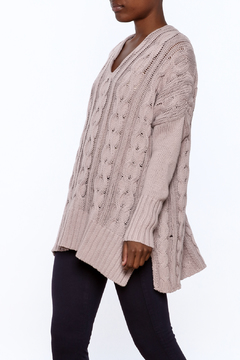 Wishlist Oversized Cable-knit sweater - Product List Image