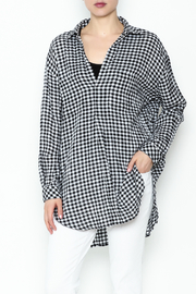 Wishlist Plaid Long Sleeve Tee - Product Mini Image