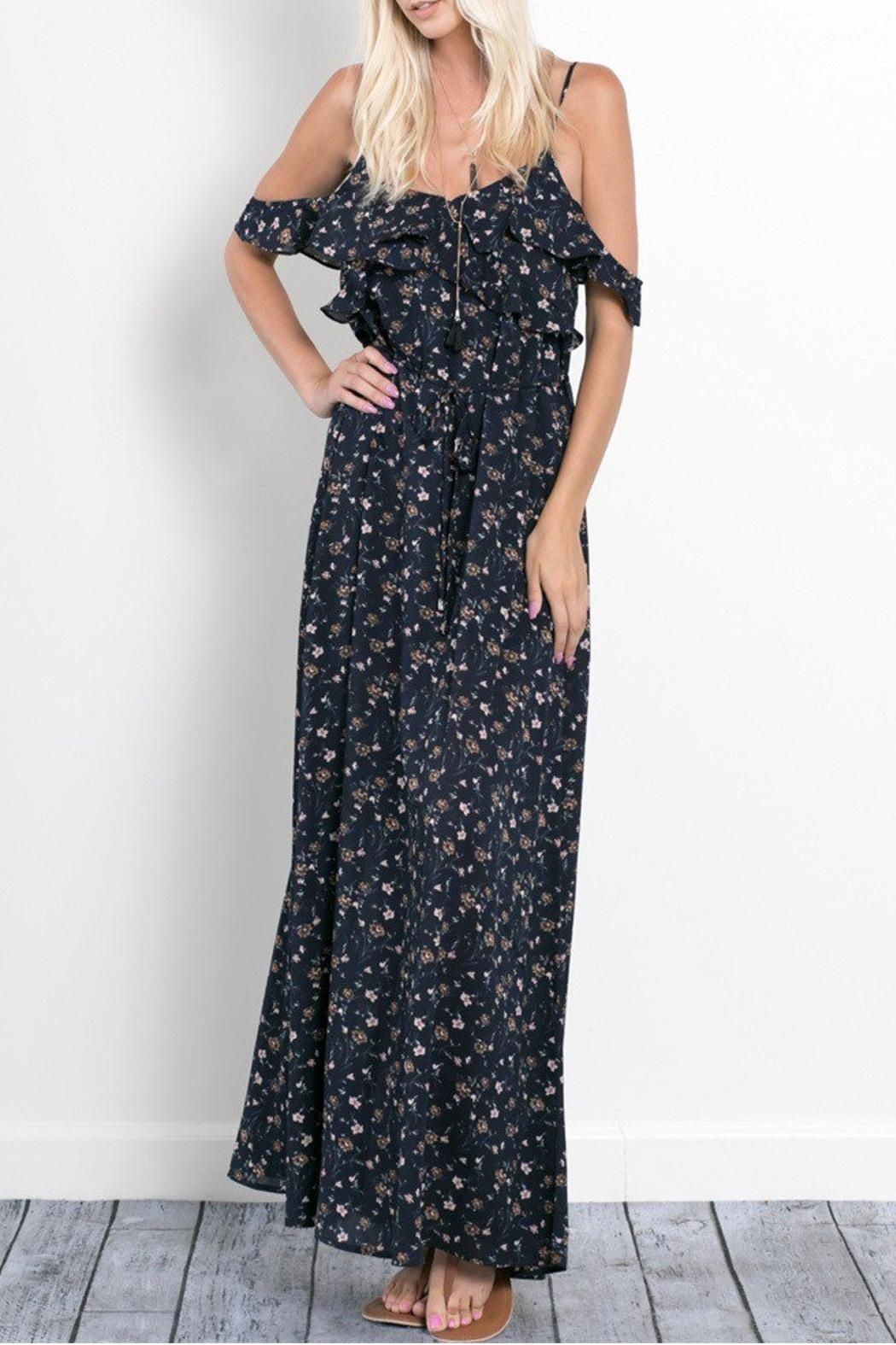 Wishlist Rebecca Floral Maxi Dress - Front Full Image