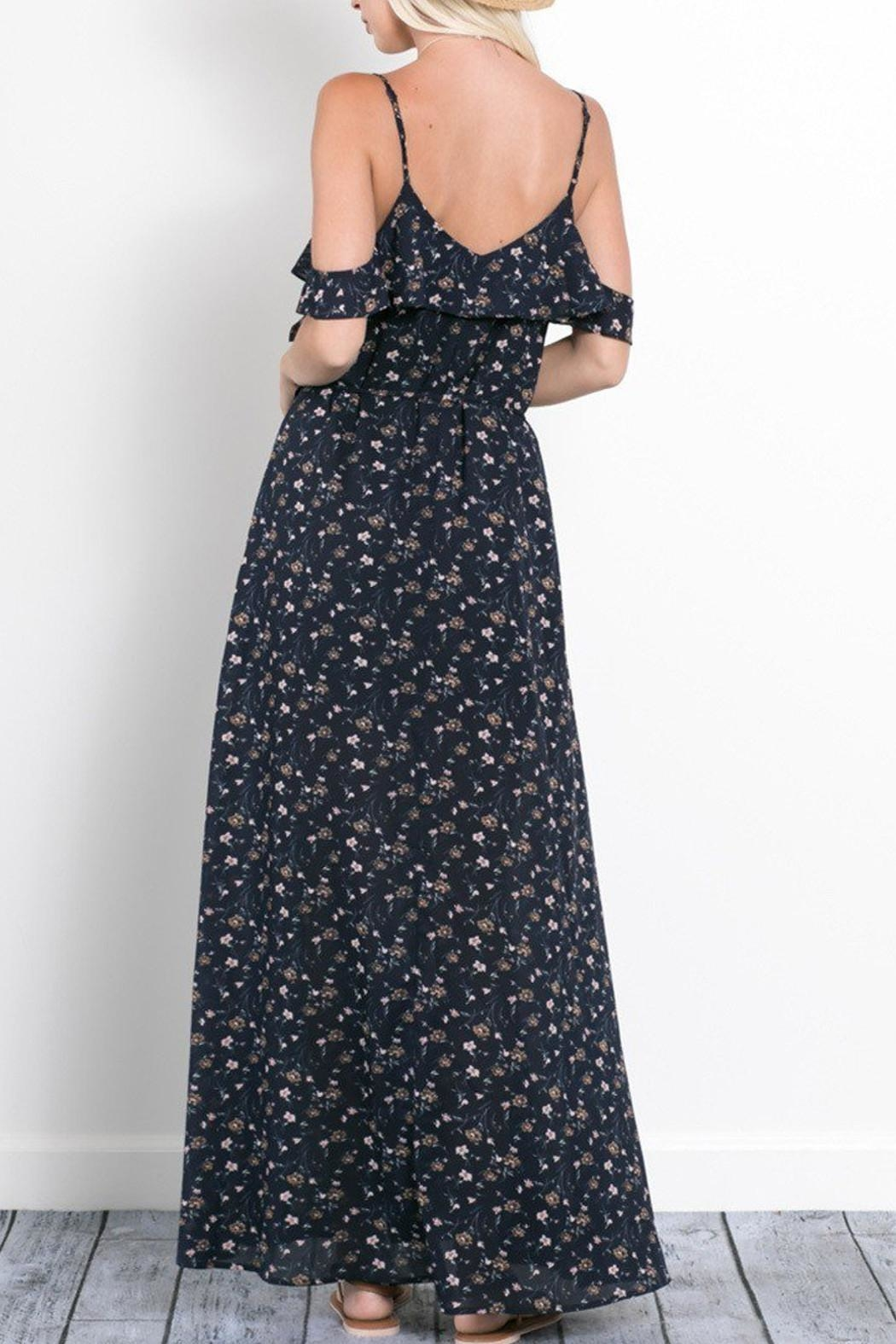 Wishlist Rebecca Floral Maxi Dress - Side Cropped Image