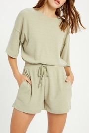 Wishlist Ribbed Two-Piece Set - Front cropped