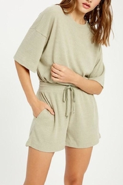 Wishlist Ribbed Two-Piece Set - Side cropped