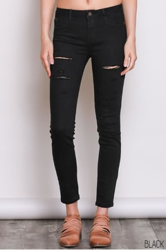 Shoptiques Product: Ripped Skinny Jeans