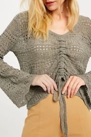 Wishlist Ruched Detail Summer Sweater - Product Mini Image