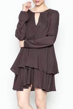Shoptiques Product: Ruffled Longsleeve Dress