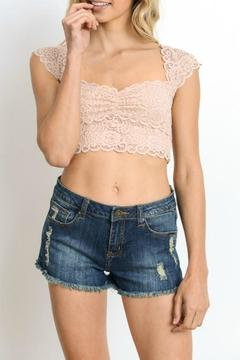 Shoptiques Product: Scallop Edge Crop Bralette