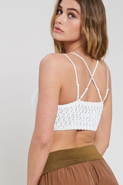 Wishlist Scalloped Lace Bralette - Front full body