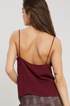Wishlist Silky Burgundy Camisole - Alternate List Image