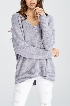 Shoptiques Product: Silver Chenille Sweater