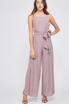 Shoptiques Product: Slit Leg Jumpsuit