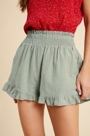 Wishlist Smocked Ruffle Short - Product Mini Image