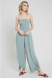 Wishlist Smocked Top Jumpsuit - Front full body