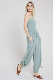 Wishlist Smocked Top Jumpsuit - Product Mini Image