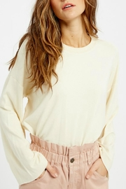 Wishlist Tallulah Bell-Sleeve Sweatshirt - Front full body