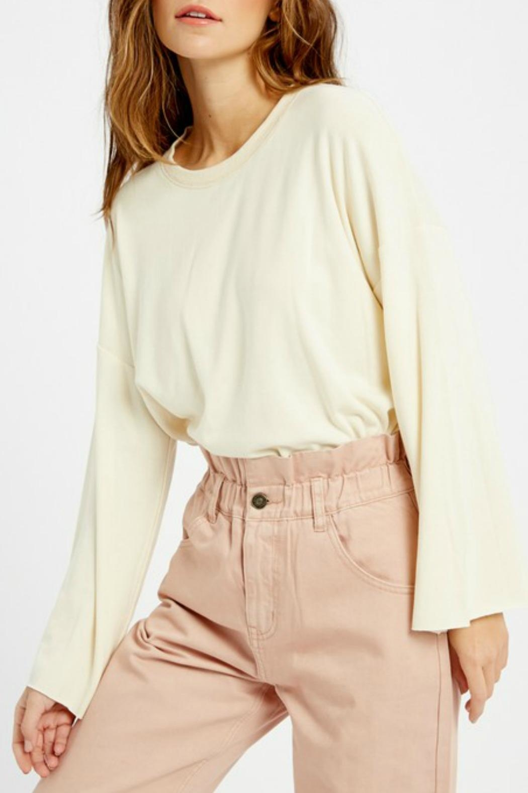 Wishlist Tallulah Bell-Sleeve Sweatshirt - Side Cropped Image