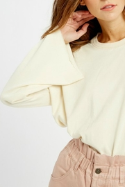 Wishlist Tallulah Bell-Sleeve Sweatshirt - Back cropped