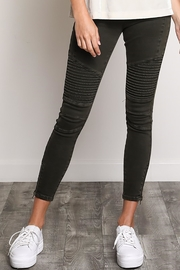 Wishlist The Brigitte Moto-Jegging - Product Mini Image