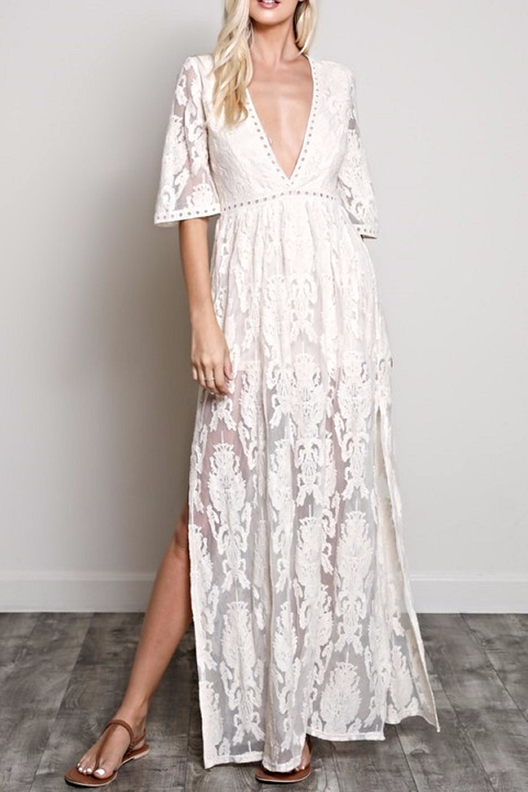 Wishlist The Cynthia Maxi Dress - Front Cropped Image