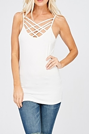Wishlist The Kimmie Tank - Front cropped
