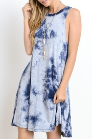 Wishlist Tie Dye Shift Dress - Front cropped
