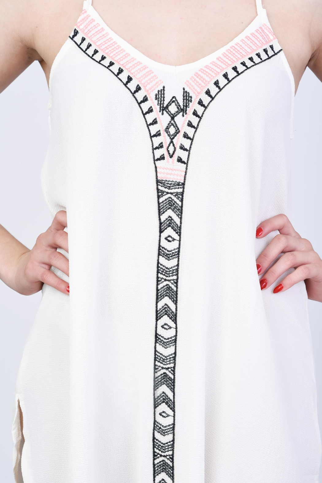 Wishlist Tribal Dress - Side Cropped Image