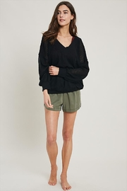 Wishlist V-Neck Thermal Sweater - Product Mini Image
