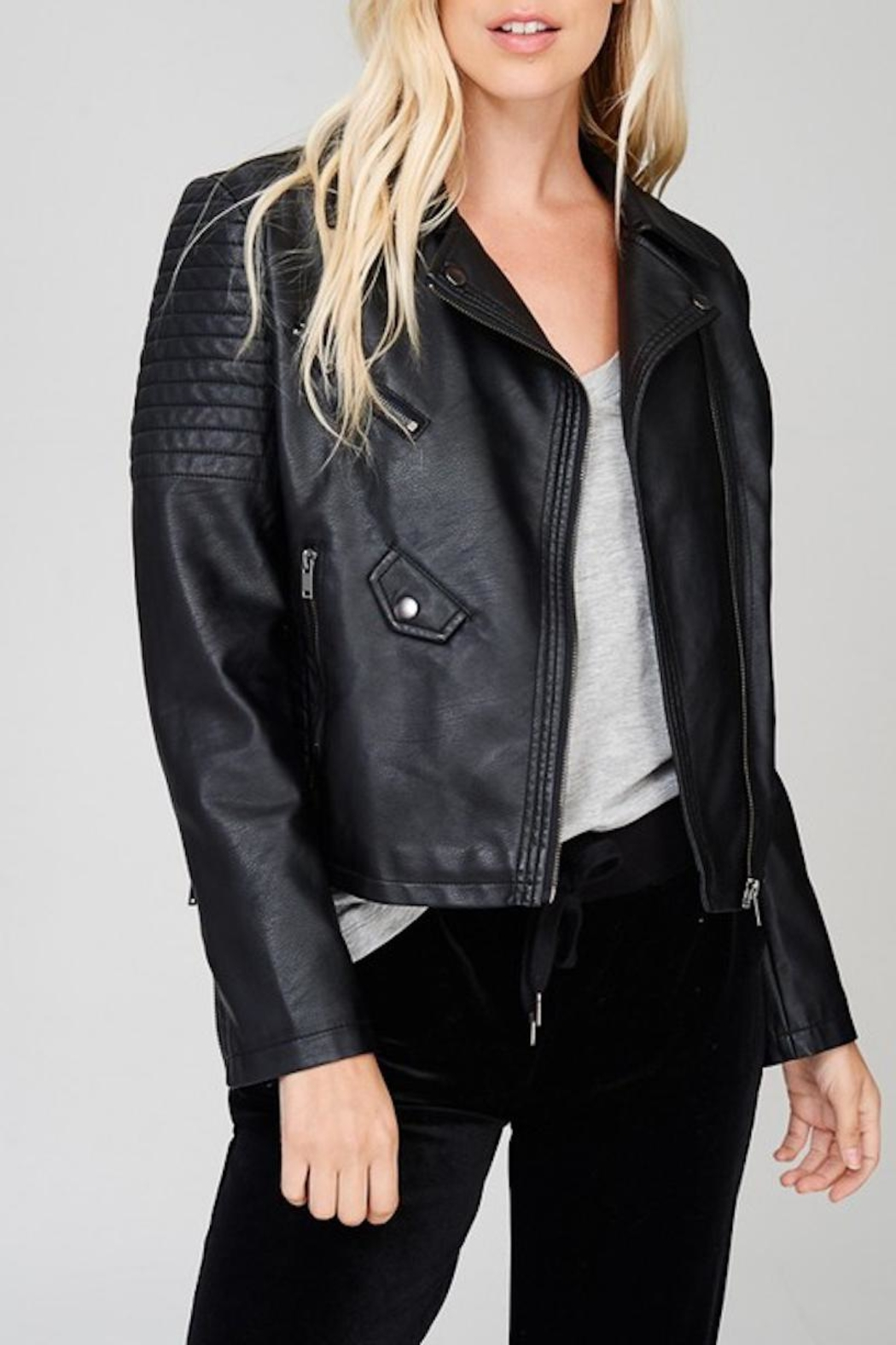 Wishlist Vegan Faux Leather - Front Cropped Image