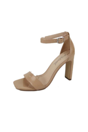anne michelle Witcher-03 Heeled Sandal - Front cropped