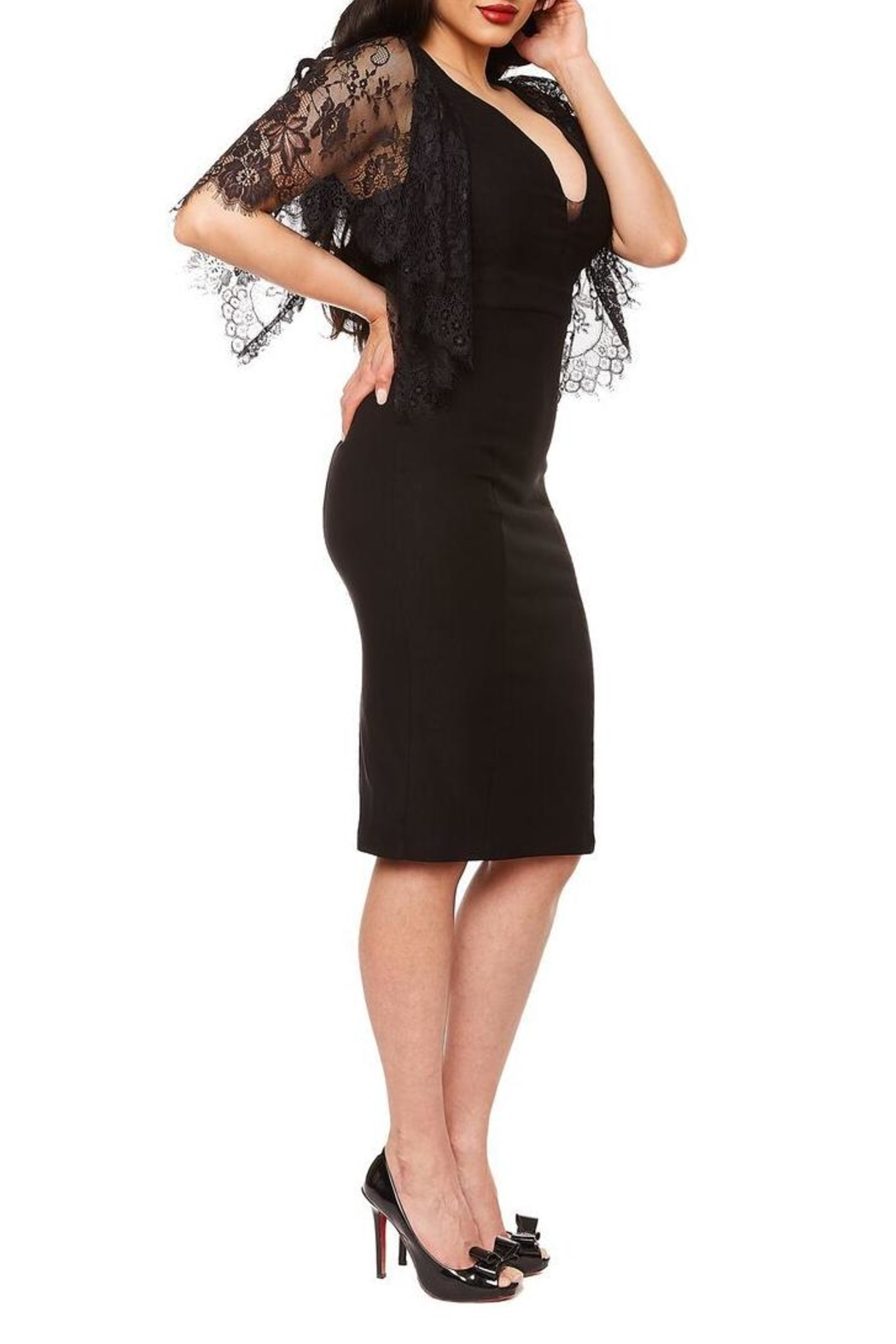 Rebel Love Clothing Witchy Woman Dress - Front Full Image