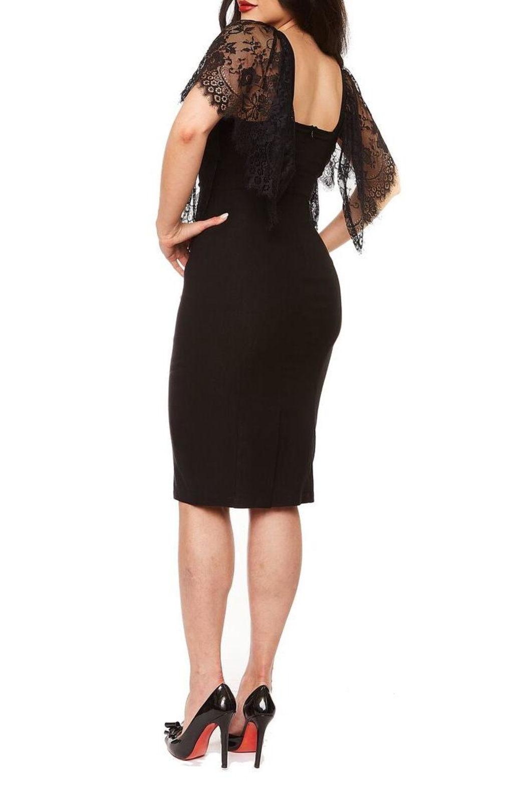 Rebel Love Clothing Witchy Woman Dress - Side Cropped Image