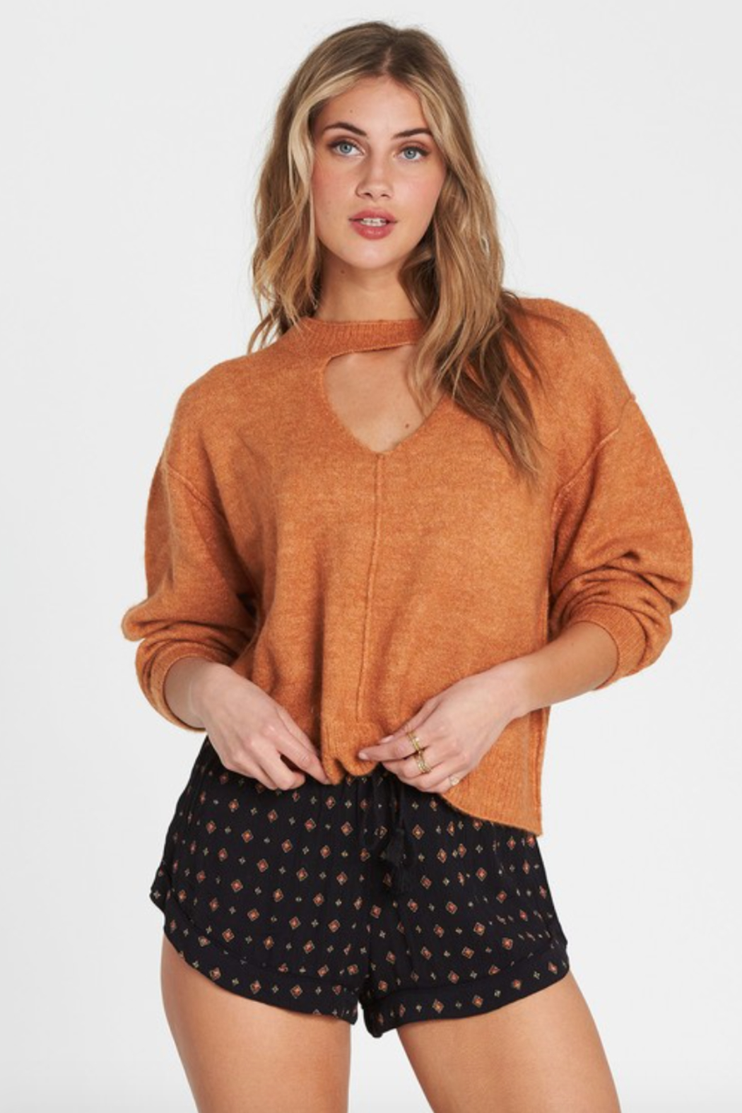 Billabong Without A Crew Sweater - Front Cropped Image