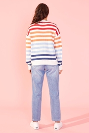 MINKPINK Without A Double Stripe Sweater - Side cropped