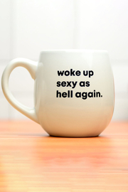 MERIWETHER Woke Up Sexy Mug - Product Mini Image