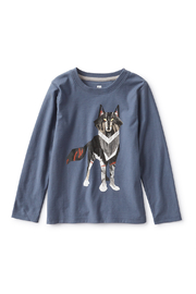 Tea Collection  Wolf Graphic Tee - Front cropped