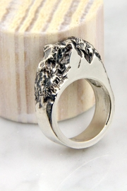 Wolf & Sparrow Silver Rock Ring - Product Mini Image