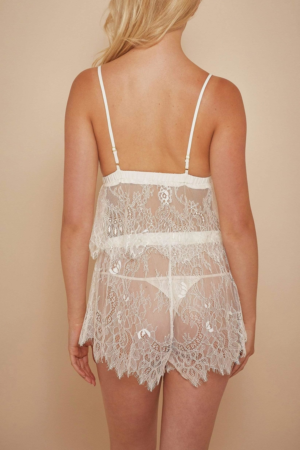 Wolf & Whistle Alexia Lace Set - Front Full Image