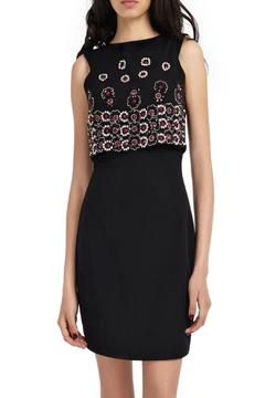 Shoptiques Product: Beaded Overlay Dress