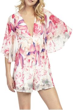 Shoptiques Product: Floral Butterfly Playsuit
