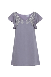 Wolf & Whistle Heather Embroidered Dress - Product Mini Image