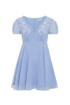 Wolf & Whistle Juliette Embroidered Dress - Alternate List Image