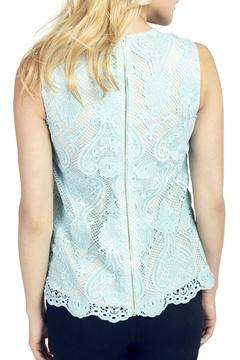 Wolf & Whistle Mint Lace Top - Alternate List Image