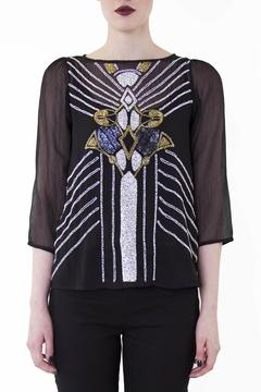 Wolf & Whistle Placement Beaded Top - Product List Image