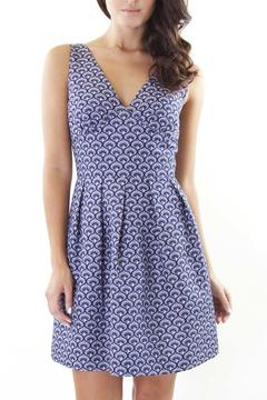 Wolf & Whistle Scalloped Flare Dress - Product List Image