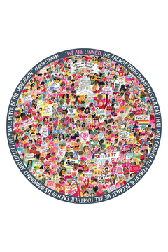 Eeboo Women March! 500 Piece Round Puzzle - Alternate List Image