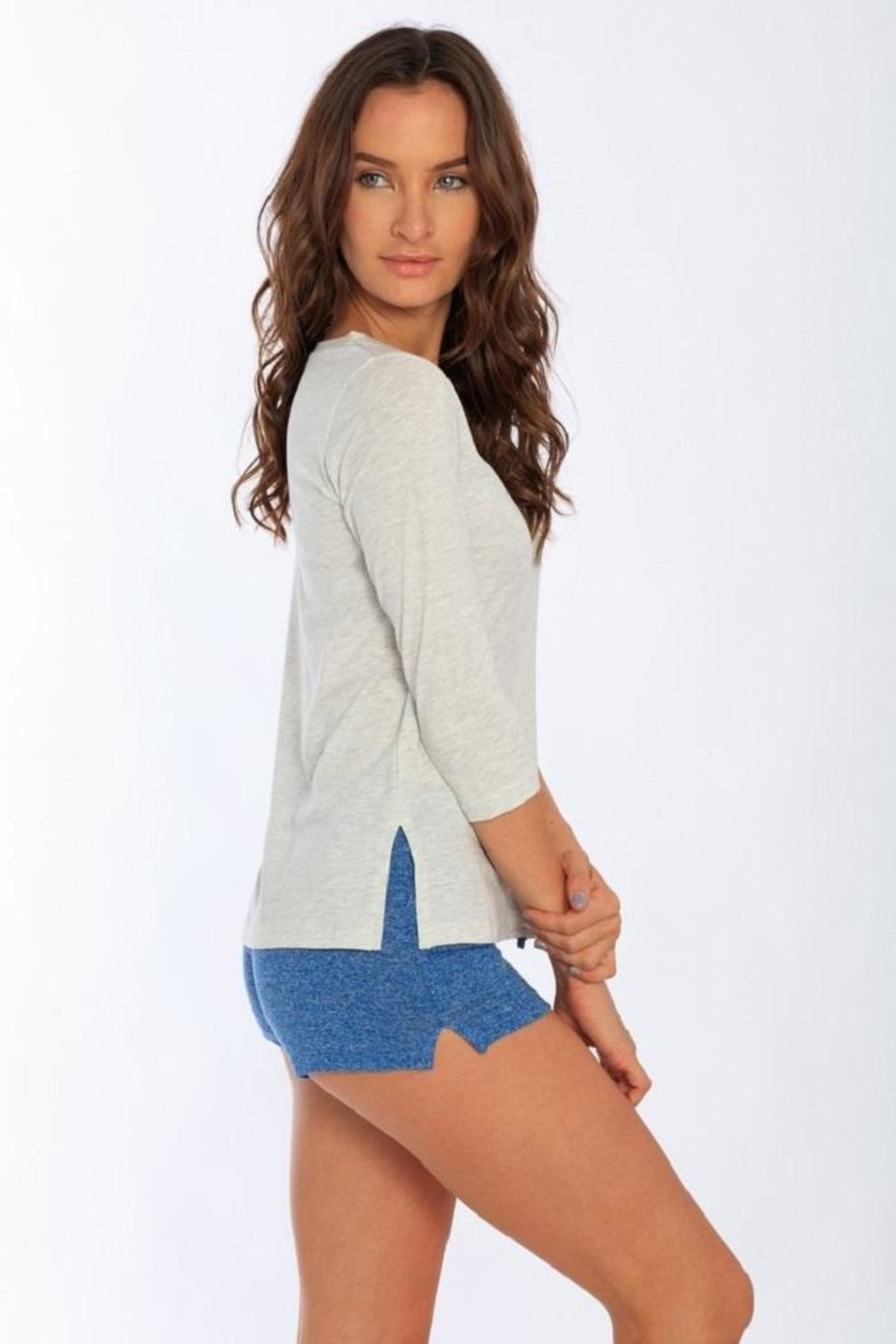 Miami Style Women's 3/4 Sleeve - Front Full Image
